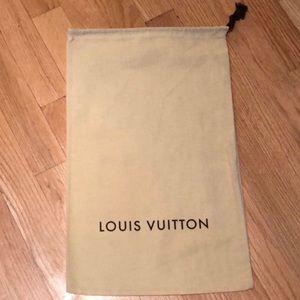 New Louis Vuitton shoe dust bag